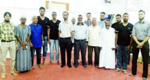 Les médecins et les bénévoles de la mosquée Umarain et de la SJFM
