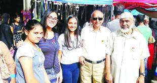 Comme chaque année, le docteur Rashid Beebeejaun est venu en famille