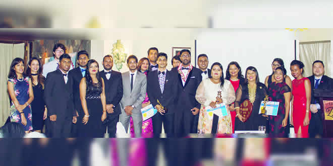 La famille du Rotaract de Port-Louis