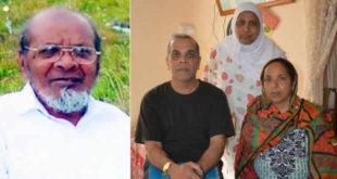 Haboubaccur Fakeerbaccus et les proches de la victime
