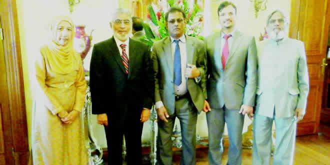 Le Prof Masood Hameed Khan