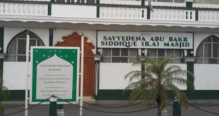 mosquée Sayyiduna Abu Bakr Siddique