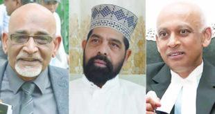 Mahmad Bocus, Maulana Haroon Assen et Raouf Gulbul
