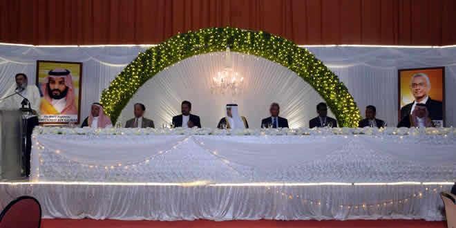 Dîner en l'honneur du ministre saoudien Adel al-Jubeir