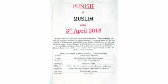 punir des musulmans