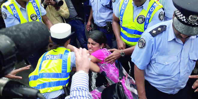 brutalité policière