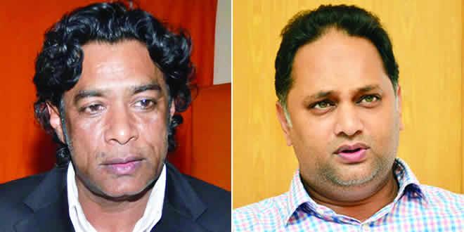 Nando Bodha et Aadil Ameer Meea