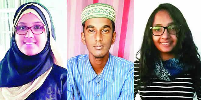 Sharfaa Emambux,  Izz-Udeen Coopan et Mehvish Kadall
