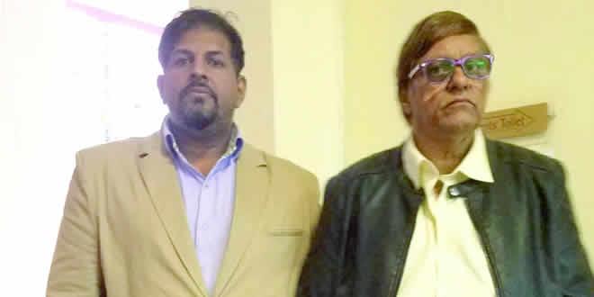 Ajmal Bhoyroo et Haroon Bhoyroo