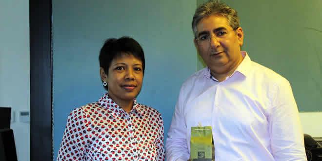 Noorani Peermamode et Michelle Holly Harivelo de Madagascar