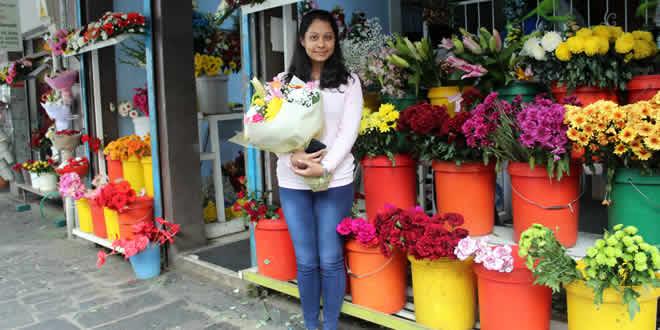 Marchands des fleurs