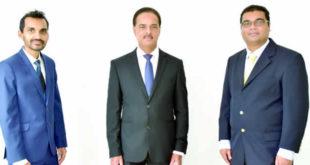 Rushdee Toorbuth, Aleem Ramankhan et Vinesh Mungra