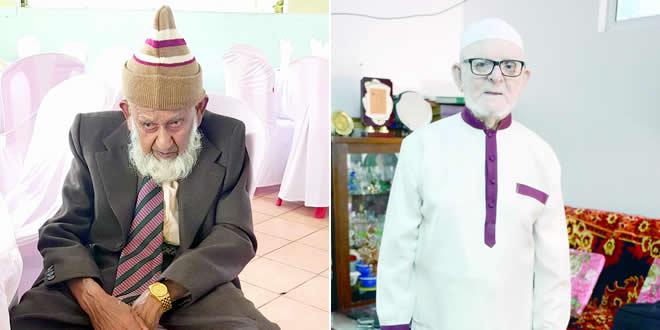 Hossen Ibrahim, 102 ans et Abdullahkhan Rossenkhan, 101 ans