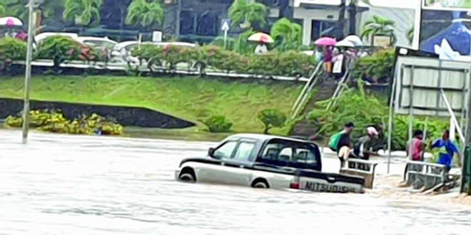 Averses et inondations
