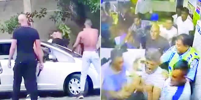 Poste de police pris d'assaut