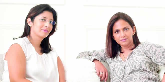Lekha Seebaluck et Aisha Allee