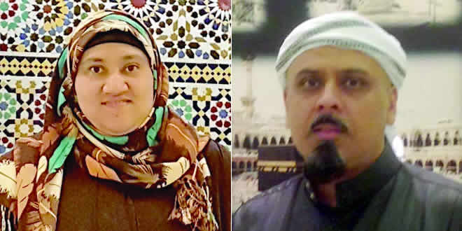 Shameem et Bilqiss Jamalkanan