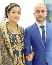 Nadeem Ramjhun et Shamnaaz Goumallee
