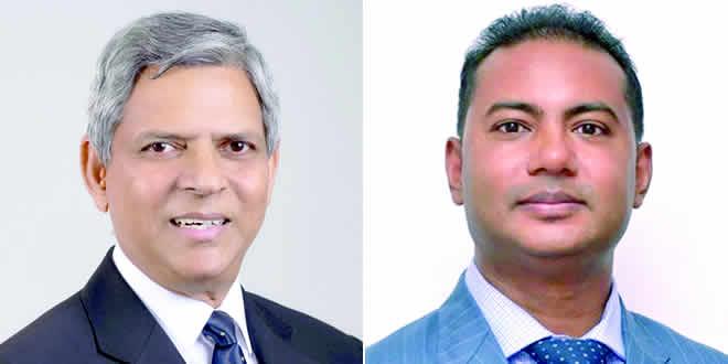 Fareed Jaunbocus et Dr Bhavish Jugurnath