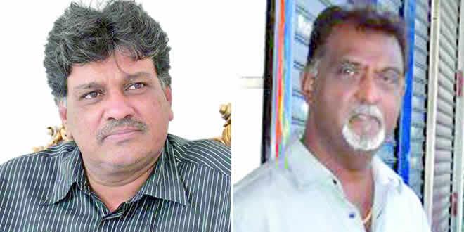 Salim Muthy et Raj Appadoo