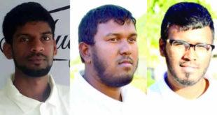 Abdoolah Mungal, Riyad Peertum et Umar Dowlut