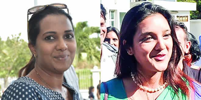 Rahtna Nundoo et Deeshvy Ragpot