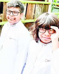 Rayhaan et Ayaan Mooraby