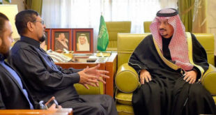Rencontre avec le gouverneur de Riyadh.